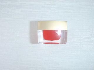 อะคลีลิกเจล ไม่มีกากเพรช สีแดง